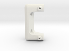 Crashbar Holder JABBER 2010.2 in White Natural Versatile Plastic