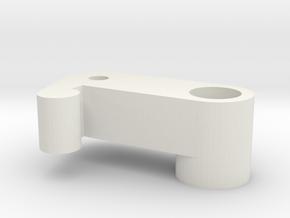 Jedi Comlink Prop Replica Top Lever Like Part A in White Natural Versatile Plastic