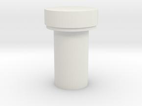 Jedi Comlink Prop Replica Top Lever Like Part B in White Natural Versatile Plastic