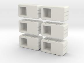 Combiner Twin Sockets in White Strong & Flexible