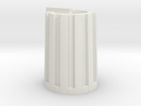 Korg MS2000 knob in White Strong & Flexible