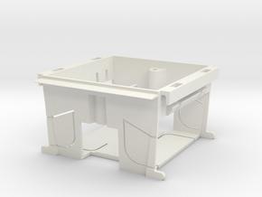 Dapeeza Patress Box in White Natural Versatile Plastic