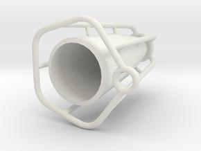 CF Vase in White Natural Versatile Plastic
