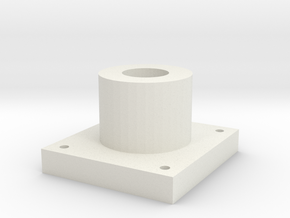laser power meter top part in White Natural Versatile Plastic