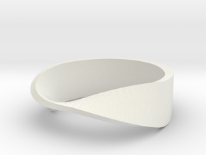 mobius ring in White Strong & Flexible