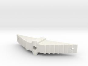 375 driver spring short in White Natural Versatile Plastic