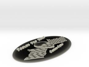 emblem3 in Transparent Acrylic