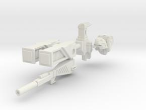 Roadbuster (CDRA) assembley mk1 in White Natural Versatile Plastic