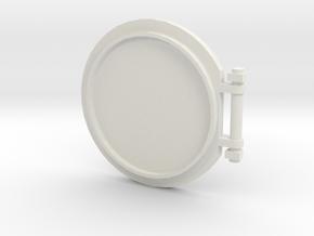 Top Hatch from Zaad 829 LuftWagen in White Natural Versatile Plastic