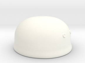 Paratrooper Helmet in White Strong & Flexible Polished