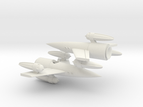 """R-Rocket """"Earth""""-Class Tiny in White Natural Versatile Plastic"""