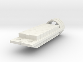 Zyphon Box Class Freighter in White Natural Versatile Plastic