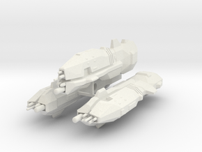 USF Light Cruiser x 3 in White Natural Versatile Plastic