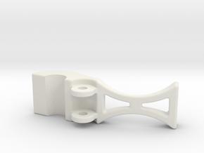 safety clip 9-13-10 B.STL in White Natural Versatile Plastic