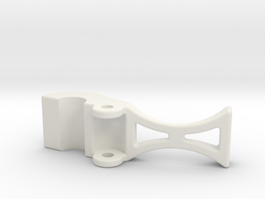 safety clip 9-13-10.STL in White Natural Versatile Plastic