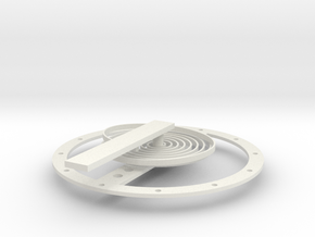 SpringTest in White Natural Versatile Plastic