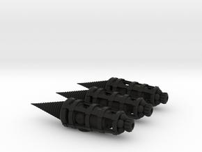 Molemen Type 1 3-pack in Black Strong & Flexible