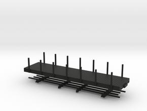 HOn30 28 ft flat in Black Strong & Flexible