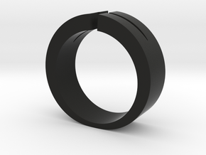 Split Ring in Black Strong & Flexible