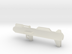 E-60R Missile Launcher in Transparent Acrylic