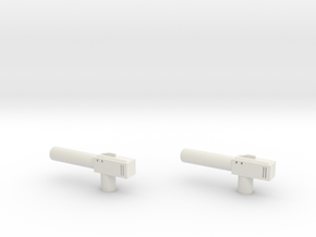 Sunlink - Barrel v1 Gun x2 in White Strong & Flexible