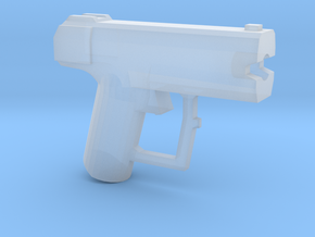 Space Pistol-C-Variant in Smooth Fine Detail Plastic