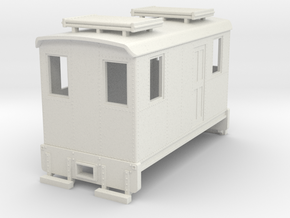 Hon30 short boxcab loco in White Natural Versatile Plastic