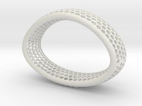 Pulserus in White Natural Versatile Plastic