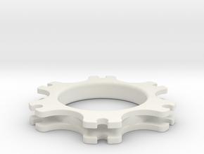 SB5 Brake Disc Guide in White Strong & Flexible
