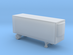 28 Foot Refrigerated Trailer - Z scale in Smooth Fine Detail Plastic
