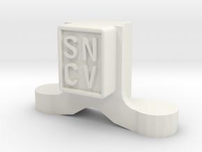 SNCV boite-NMVB assendoos-NMVB axle box-type Brill in White Natural Versatile Plastic