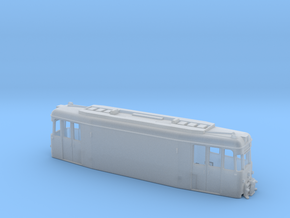 Straßenbahn Arbeitstriebwagen in Smooth Fine Detail Plastic