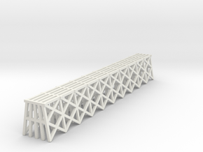 Trestle - Z scale in White Strong & Flexible