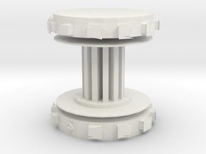 Power Gen Core Component in White Natural Versatile Plastic