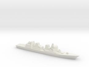 [JMSDF] Akizuki Class 1:1800  in White Natural Versatile Plastic