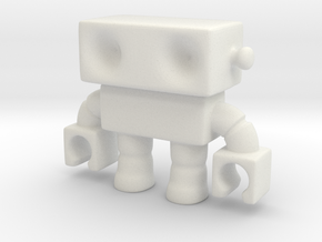 Cool! Modified Robot 14... Smooth! in White Natural Versatile Plastic