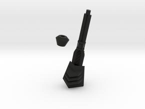 TRex Brainbox cannon in Black Natural Versatile Plastic