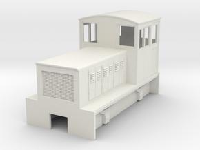 HOn30 endcab body for Kato 11-103 (CC) in White Natural Versatile Plastic