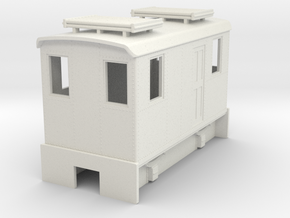 HOn30 short boxcab for Kato 11-103 in White Strong & Flexible