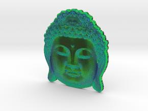 BuddhaAqua in Full Color Sandstone