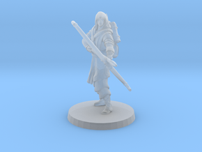 Elven Archer  (alone) in Smooth Fine Detail Plastic