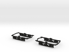 #BDW7801 Baldwin MCB truck frame for NWSL Stanton  in Black Strong & Flexible