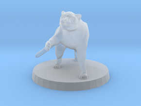 Panther (alone) in Smooth Fine Detail Plastic