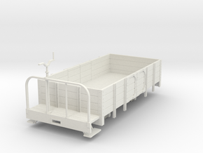 Oe open wagon with brake platform in White Strong & Flexible