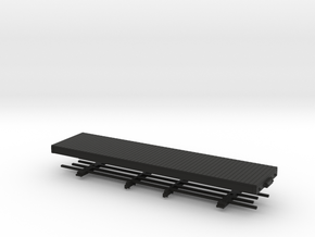 HOn30 28 ft Underframe  in Black Strong & Flexible