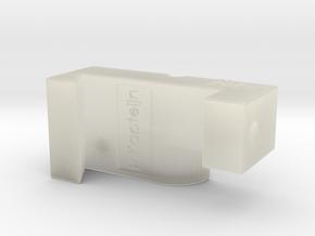Xo - Chuck splicer L in Transparent Acrylic
