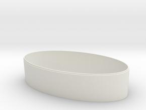 shell down in White Natural Versatile Plastic