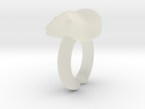 Moli Ring in Transparent Acrylic