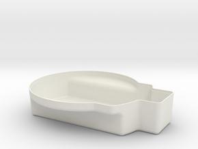 Tacho_box in White Natural Versatile Plastic