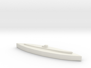 U-459 (Type XIV) 1:1800 in White Natural Versatile Plastic